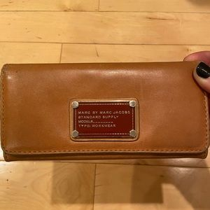 Tan Marc by Marc Jacobs Wallet Good Condition